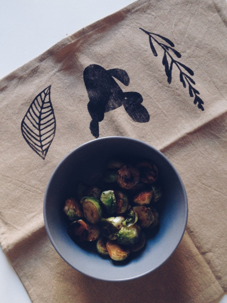 vegetarian Brussels sprouts