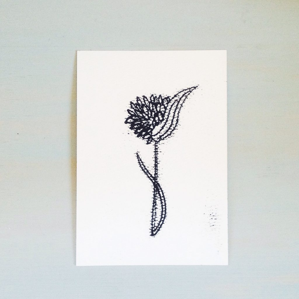 botanical monotype