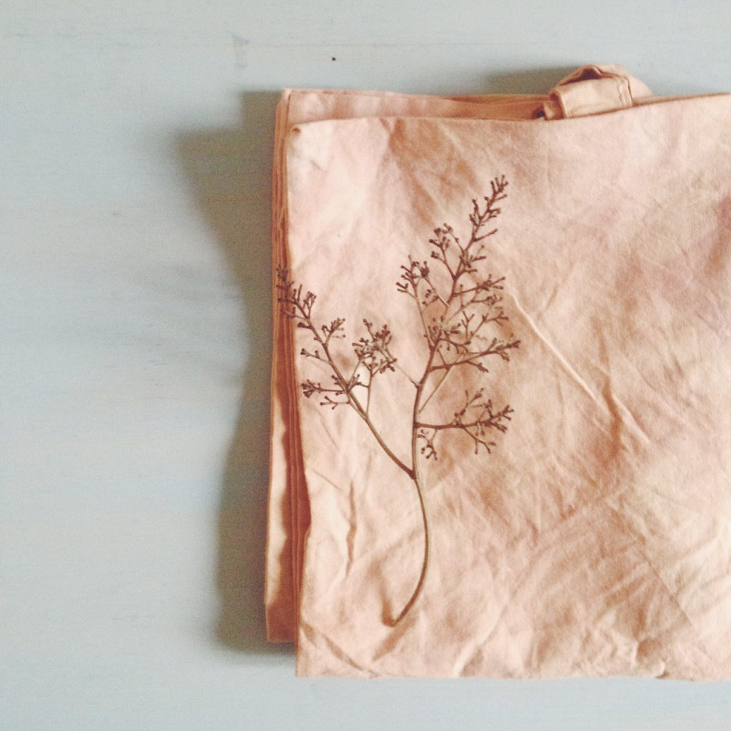 natural dyes on cotton